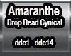 Amaranthe Drop Dead Cyn