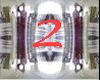 Ama}Dance ring V2 SILV
