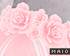 🅜 FLOWER: crown pinku