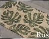 Rus Leaf Door Mat