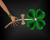 St Patrick's Clover Wand