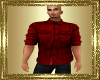 VG~Red LngSlvRolledShirt