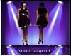 BBW Glendora Purple Dres
