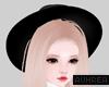 Ⓐ Fedora Black