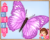 « Kids Purple Butterfly