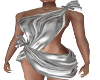 Sexy Silver Toga