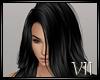 VII:  Hair  Black