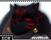 Ice * Red Kitsune Mask