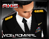 AX - USN Vice Admiral