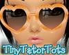 Kids Orange Sunglasses