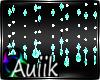 A| Turq. Crystal Beads
