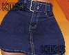 *Fall Skirt Jeans RLS