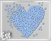 c Daisy Wall Heart