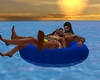 J* Island couple relax
