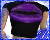 Purple Juicy Lips Baby T