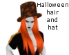 Halloween hair and hat
