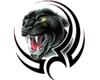 Panther Back Tat
