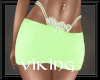 RLL Lime & Lace Skirt