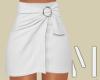 White Mini Skirt | S