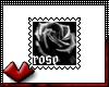(V) Rose Stamp