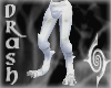 F) Wht Mrbl Gargoyle Leg
