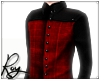 Red/Black Andro Flat