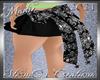 !a Kids Skull Bow Skirt