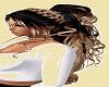 Black Blonde Curlie long