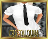 Uniform white shirt+ tie