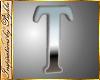 I~Chrome Letter T