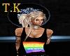 T.K Shipped rainbow