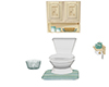 Toilet & cabin