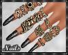 Nails - Zebra Design V2