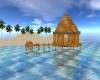 TROPICAL HUT ISLAND