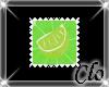 [Clo]Lime stamp