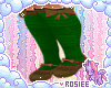 ✿ scarecrow shoes