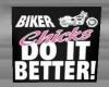 Biker Chicks Poster