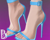 {B} Blue Pumps