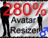 *M* Avatar Scaler 280%
