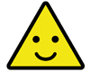 Triangle Smiley Face