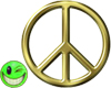 ~MDB~ GOLDEN PEACE SIGN
