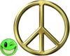 ~MDB~ GOLDEN PEACE SIGN