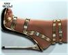 J | Gold Party Heels