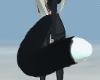 B&W Kitty Tail ~Req.