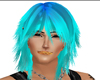 Ice blue hairs