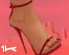 1K OTP Strappy Heels Red