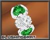 !B Lush Ring Emerald