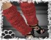 ~Red leg warmers~