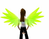 Neon Green Wings