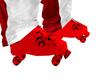 ROLLER SKATES RED CUSTOM